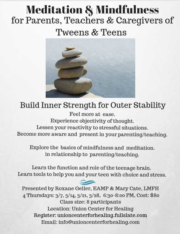 mindfulness for parents of teens