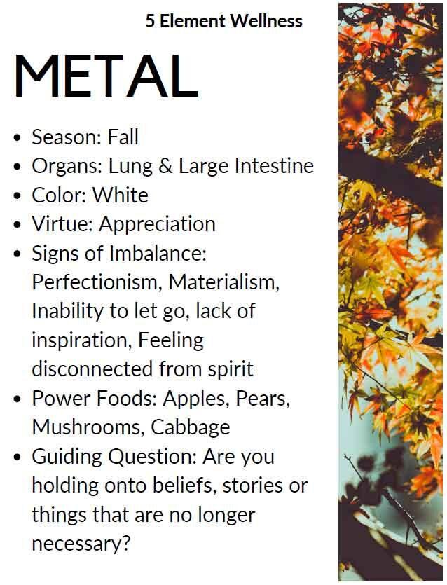 5 element metal